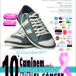 A punt per 10a Caminada contra el càncer de mama